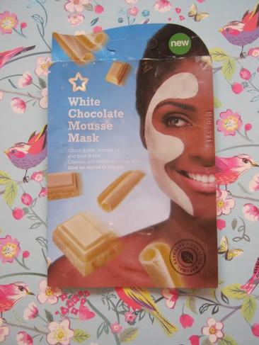 Face Mask White Chocolate Superdrug